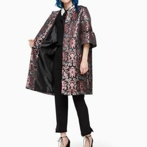 KATE SPADE finer things tapestry coat ( size 6&00)